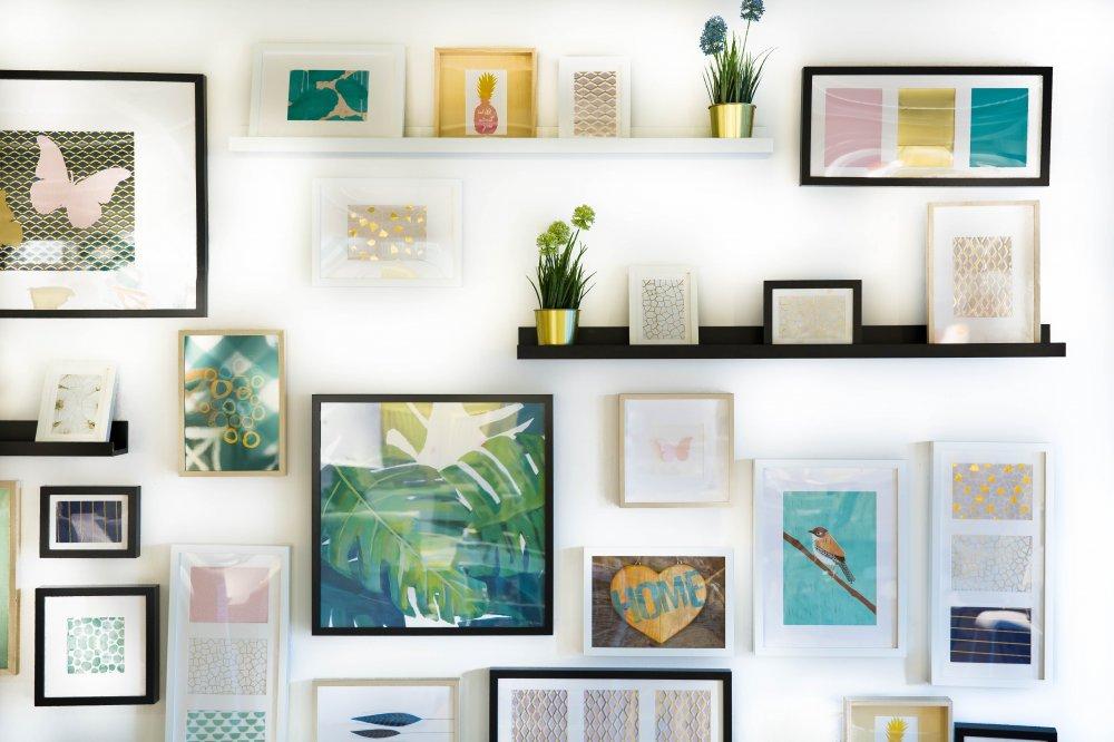 Ge nytt liv åt hemmet med sohu-shop.se väggdekor